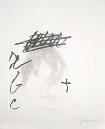 Tapies etching